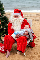 Santa on the beach by Jessica Roberts-146