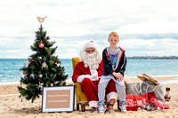 Family santa on beach fb-2