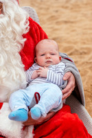 Santa on the beach by Jessica Roberts-147